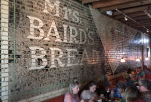 Mrs Bairds Wall at Lili's Bistro