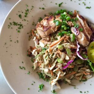 Asian Pasta with Grilled Chicken