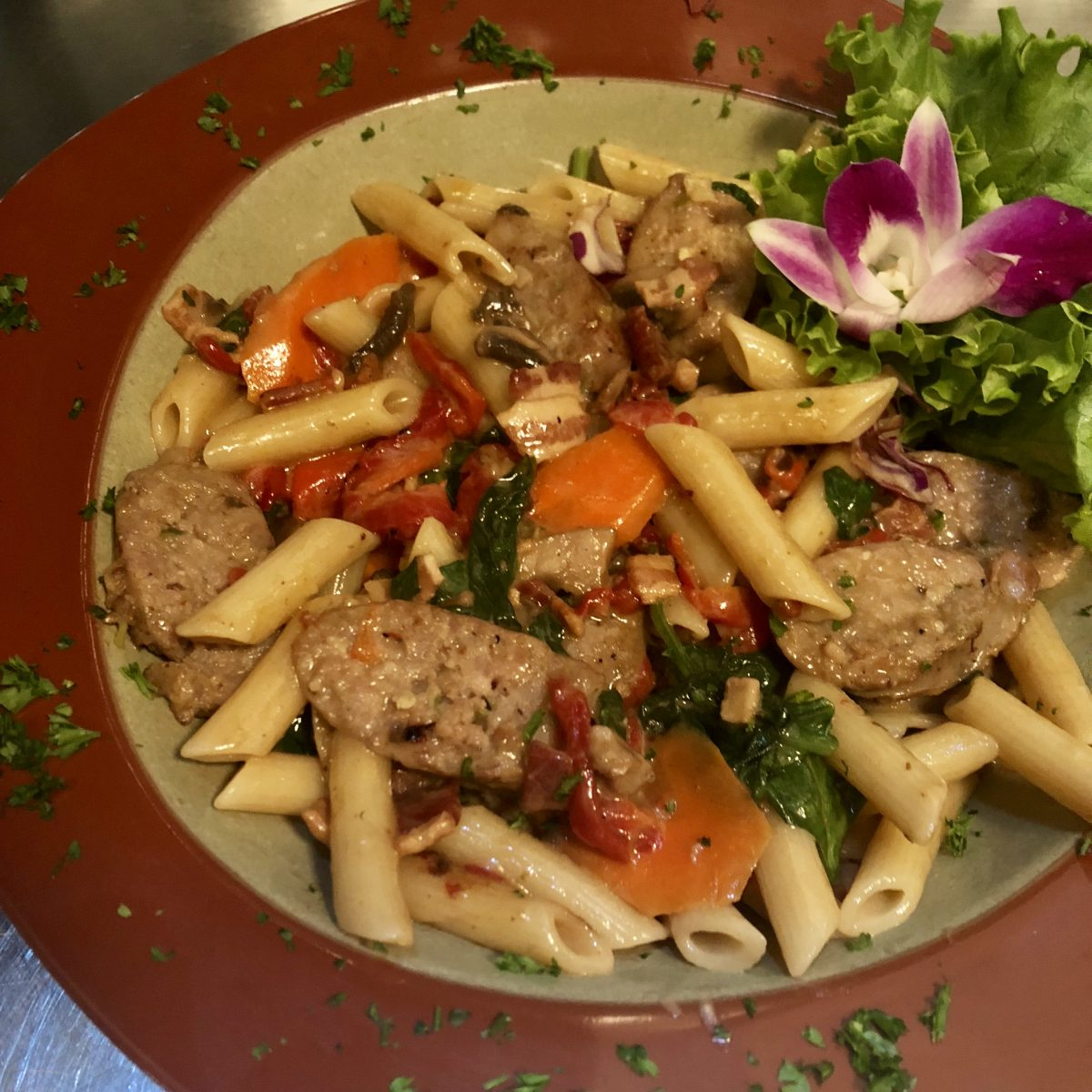 Sweetwater Sausage and Pasta